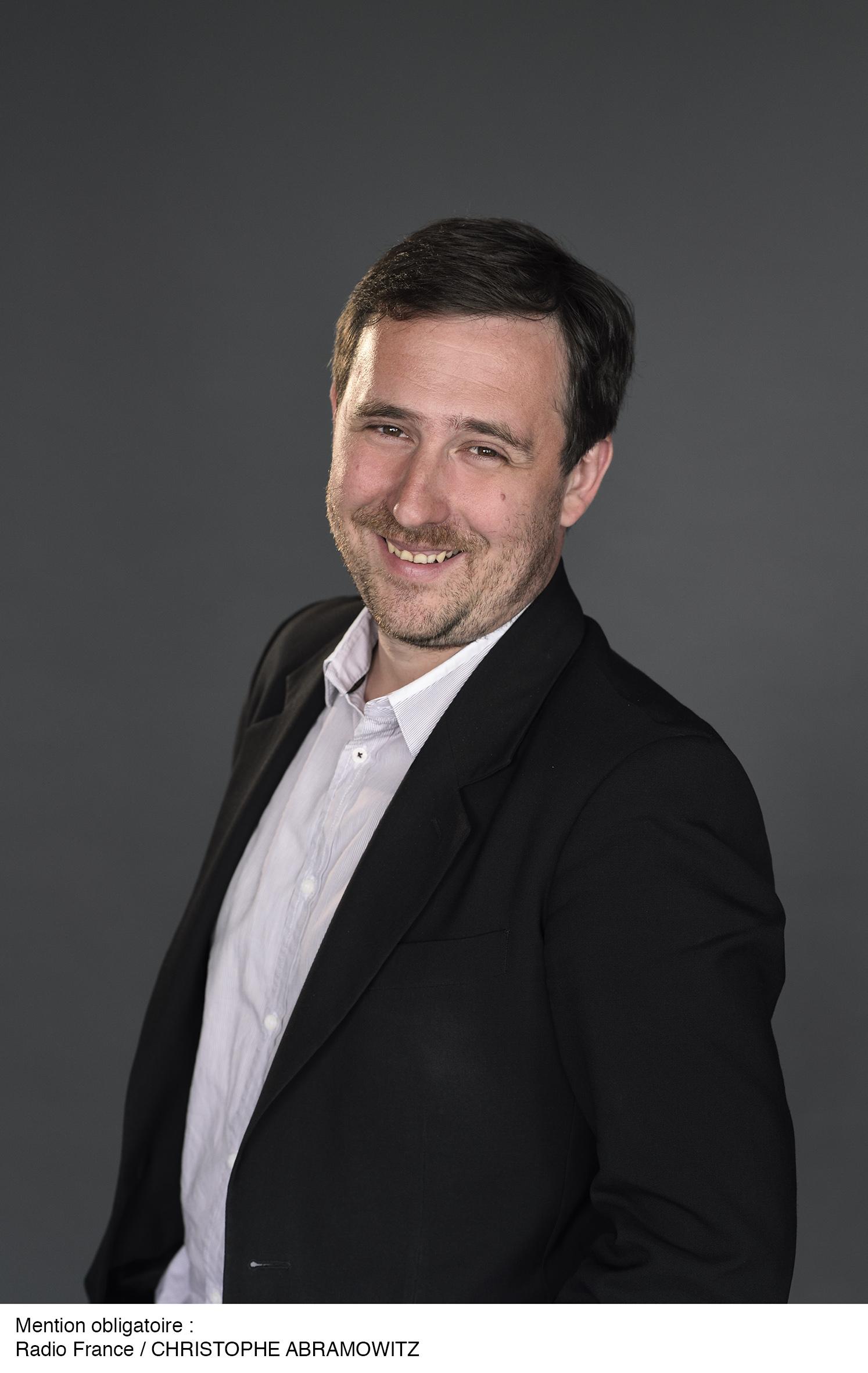 Erwann Gaucher est un enfant du digital. Né dans la presse locale, il a grandi sur le digital, puis en télé, avant de venir à la radio. (Photo Radio France, Christophe Abramowitz)