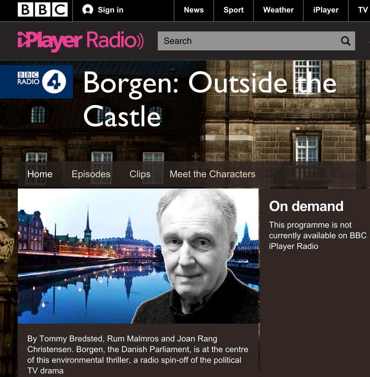 Borgen a eu son spin-off à la radio