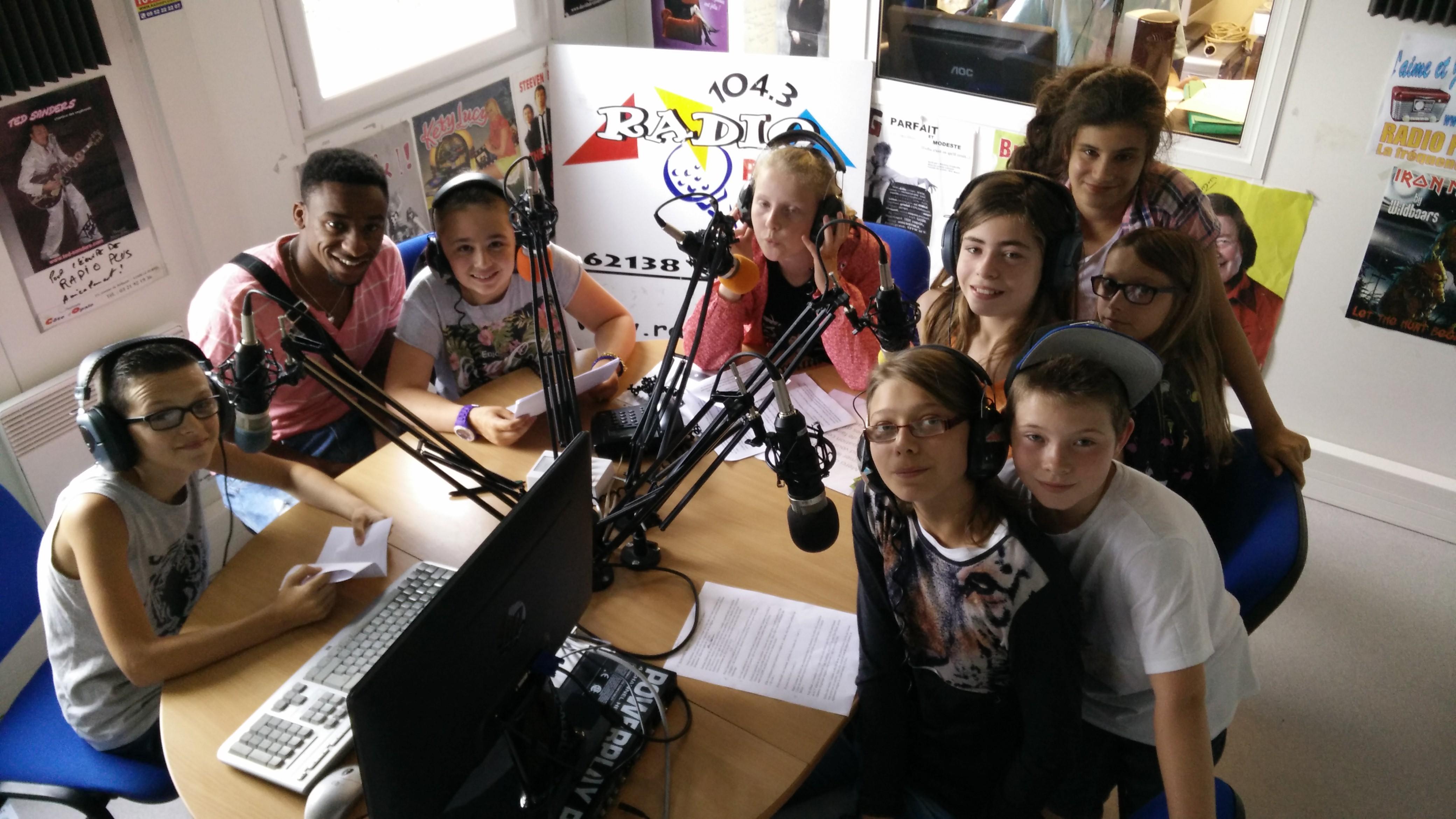Les jeunes prennent le contrôle de Radio Plus