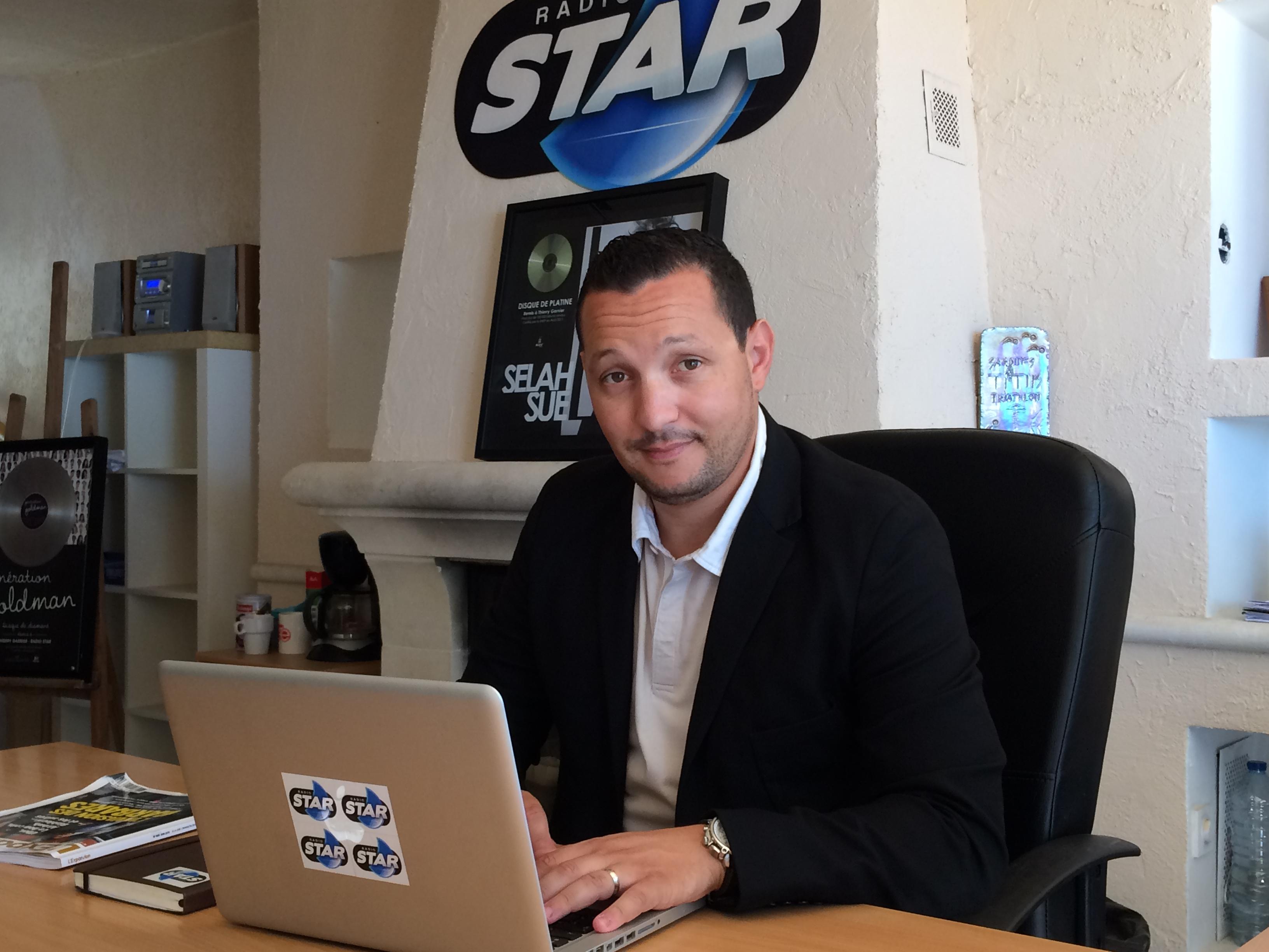 Karim Oudjane vient de prendre les rênes de Radio Star en tant que directeur général. Sa stratégie : Marseille, Marseille et encore Marseille.