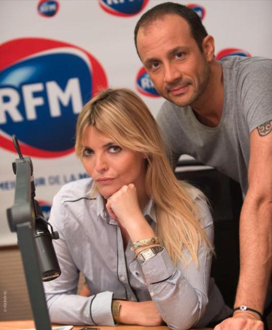 Justine Fraioli et Vincent Richard, nouveau tandem des après-midi de RFM © Vision by AG