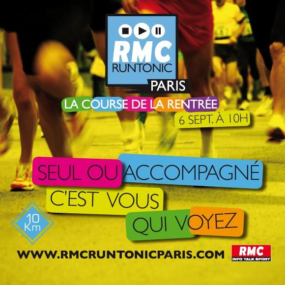 Prêt à relever le défi de la RMC RunTonic ?
