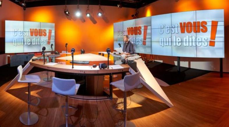 Le nouveau et beau studio de VivaCité © Jean-Yves Limet