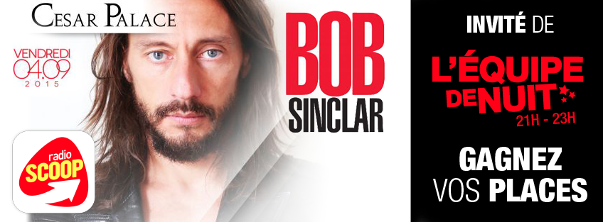Bob Sinclar en direct sur Radio Scoop