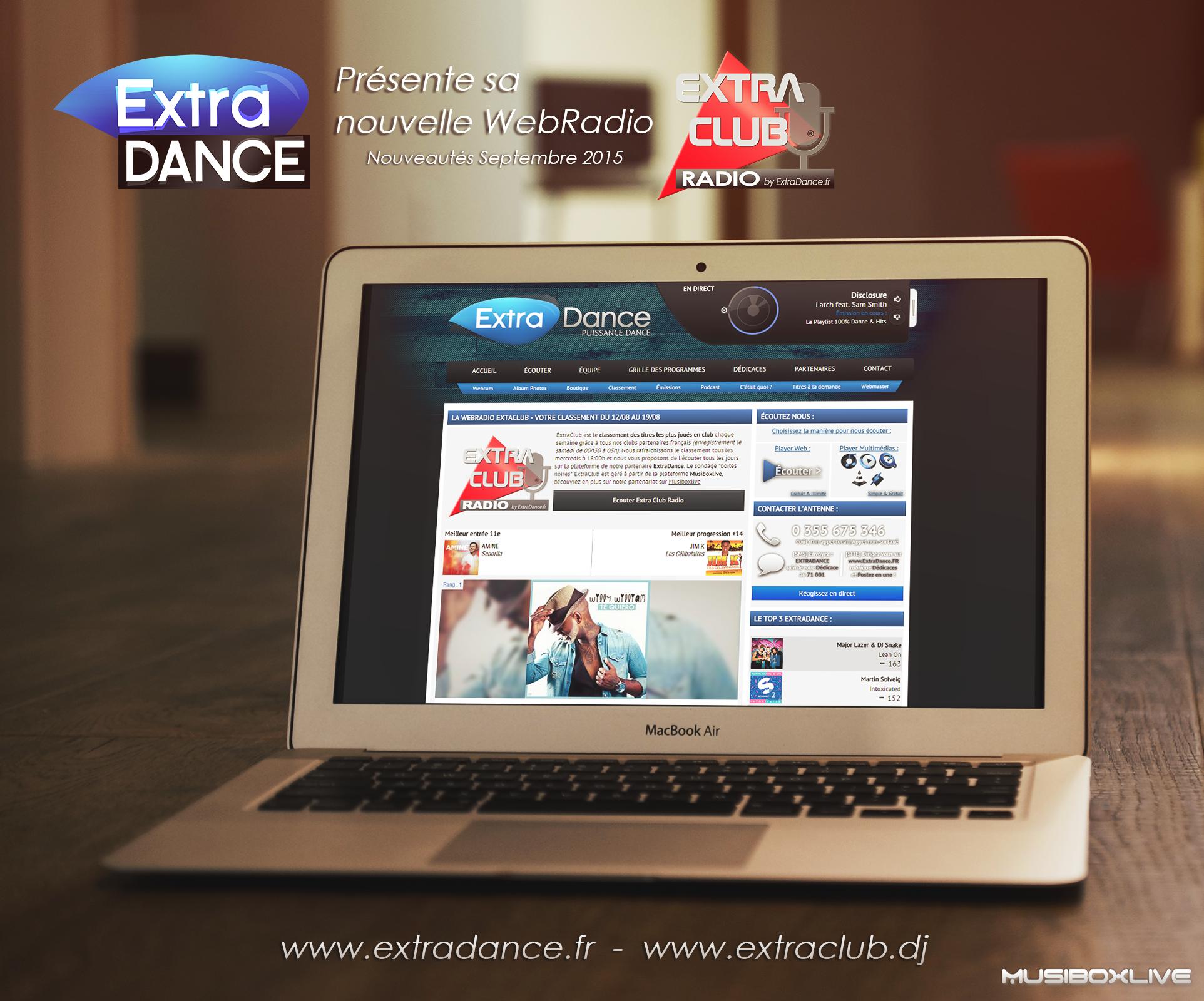 La webradio Extradance lance ExtraClub