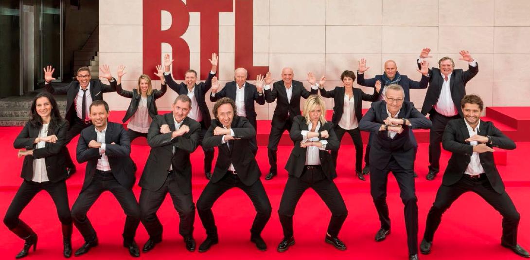 """Le """"XV RTL""""... le Haka des Animateurs et Journalistes de RTL* pour la Coupe du Monde de Rugby 2015"""