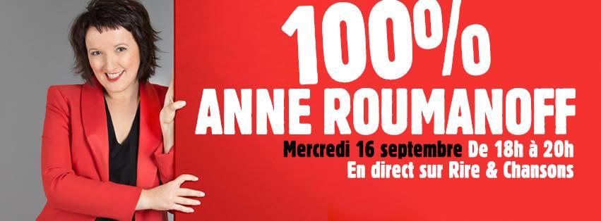 Anne Roumanoff aux commandes de Rire & Chansons