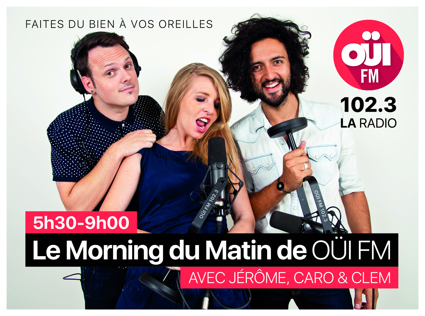 """Muse : """"On adore se réveiller et écouter Oui FM"""""""