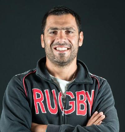 Sédrik Mollé, l'entraineur du Saint-Nazaire Rugby © Stéphane Legall