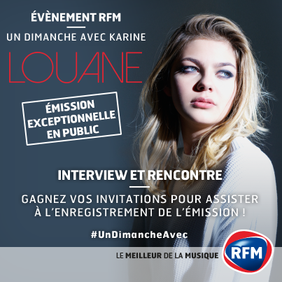 Louane invitée de Karine Ferri sur RFM