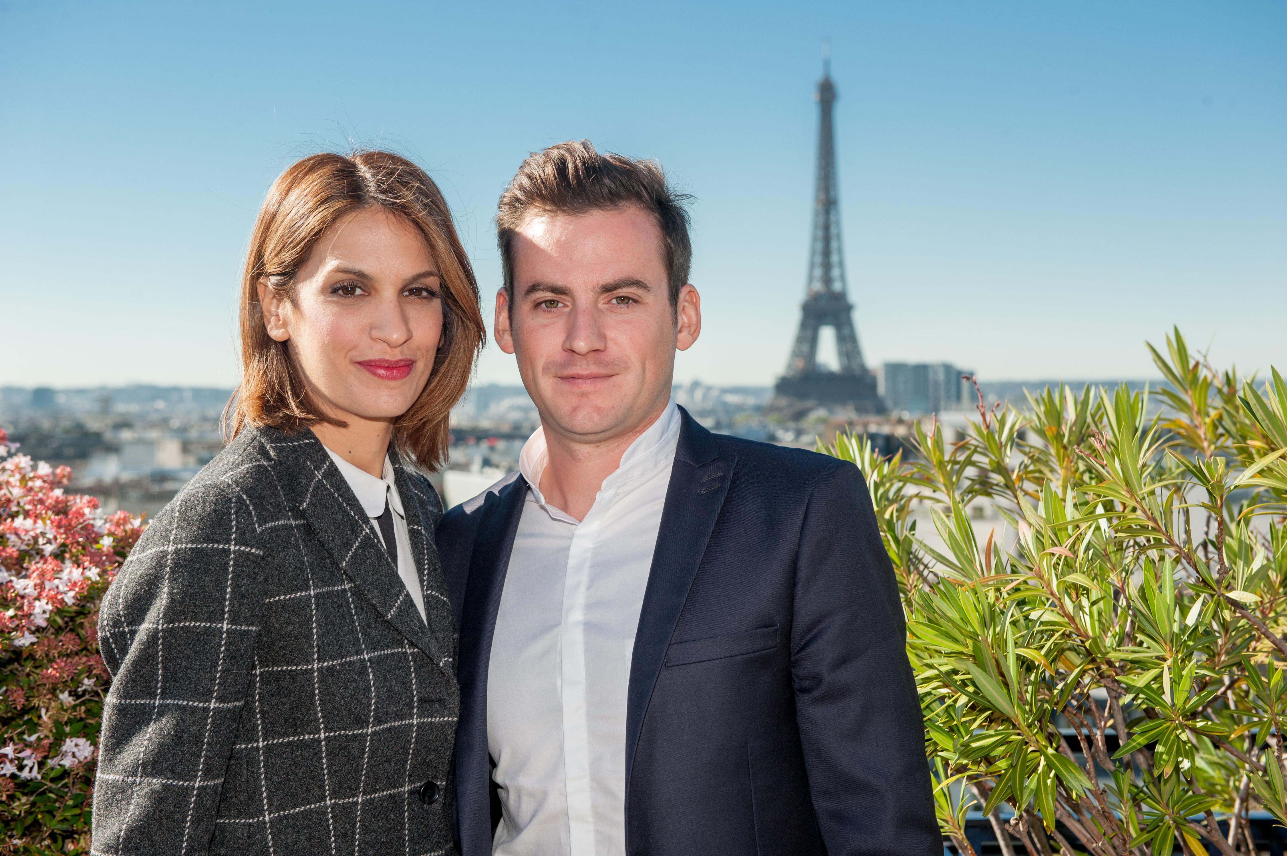 """A noter également, la nouvelle émission """"On va plus loin"""" présentée, en direct du lundi au jeudi à 22h, par Sonia Mabrouk (ici avec Paul Bouffard) qui officie également sur Europe 1, chaque samedi de 12h45 à 14h"""