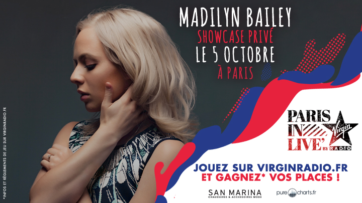 Paris in Live Virgin Radio avec Madilyn Bailey