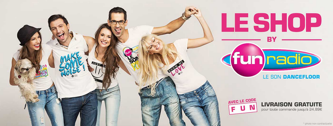 "Fun Radio lance ""Le Shop by Fun Radio"""