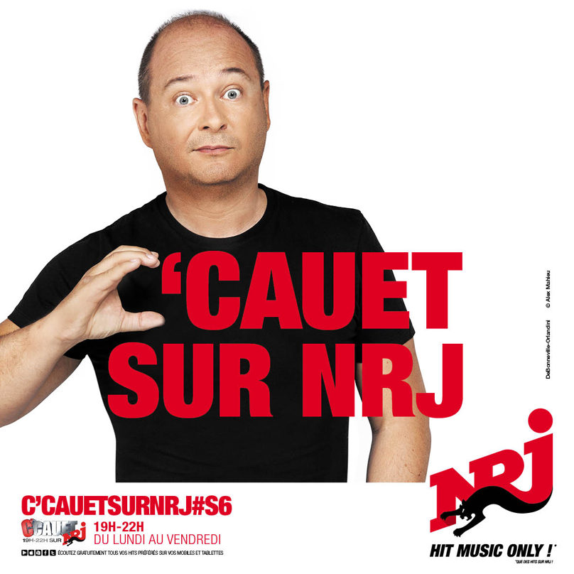 NRJ : C'Cauet en direct du Parc Asterix