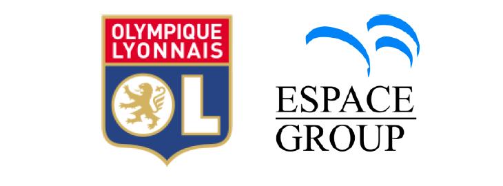Espace Group devient partenaire officiel de l'Olympique Lyonnais