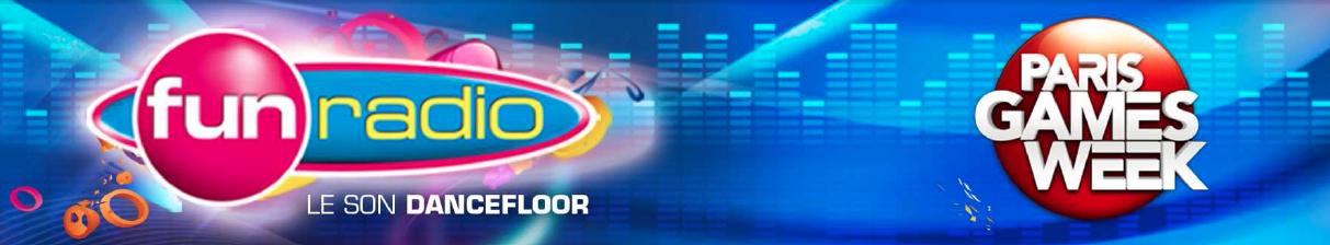 Fun Radio en direct de la Paris Games Week
