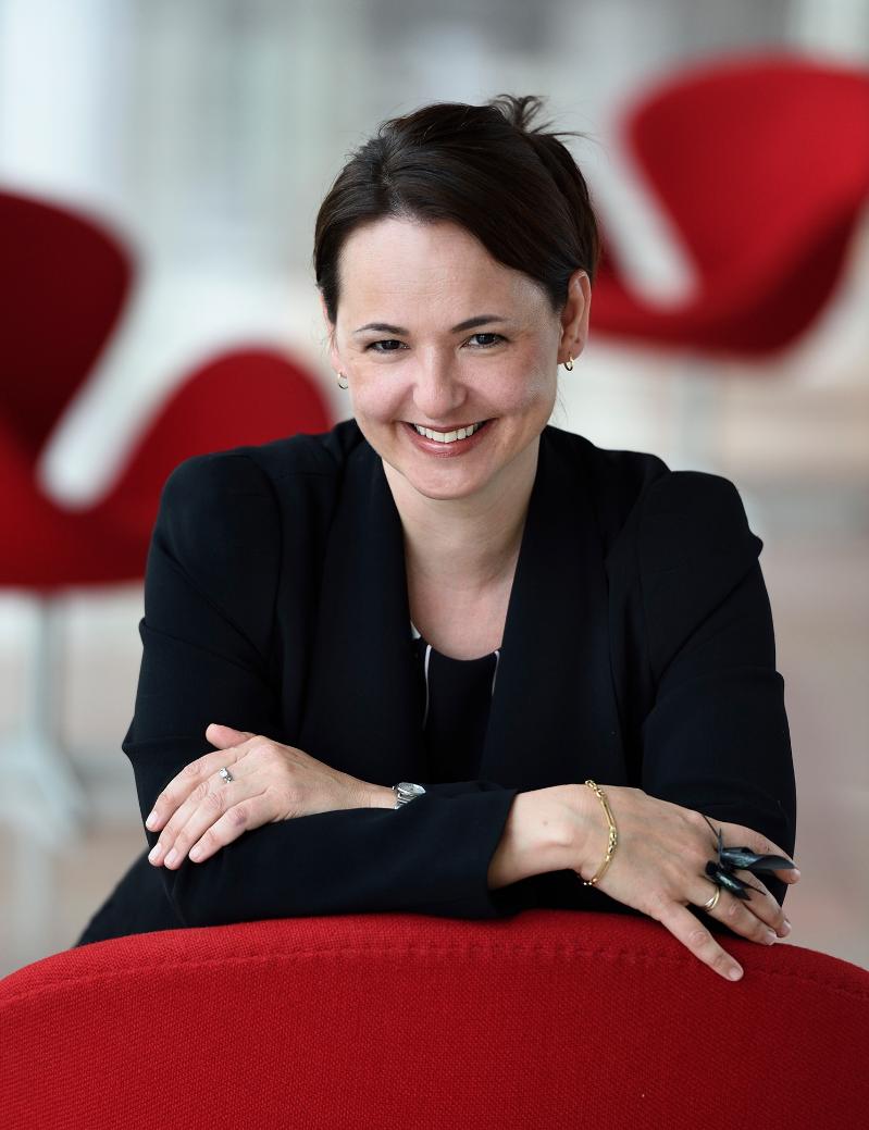Anne Sérode dirige Fip et évoquera son métier et ses rapports avec la radio dans La Mécanique des Ondes © Christophe Abramowitz