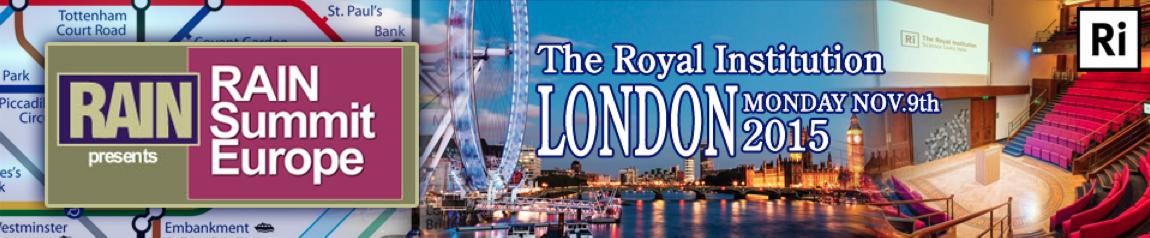 Le RAIN Summit revient à Londres le 9 Novembre