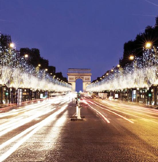 Europe 1 partenaire des illuminations des Champs-Élysées