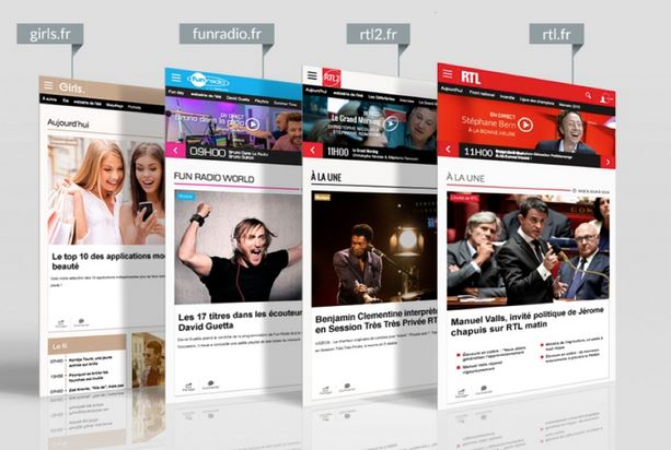 Les sites RTLnet en progression en septembre