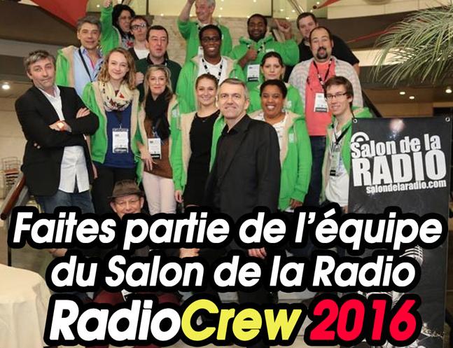 Faites partie du Radio Crew 2016