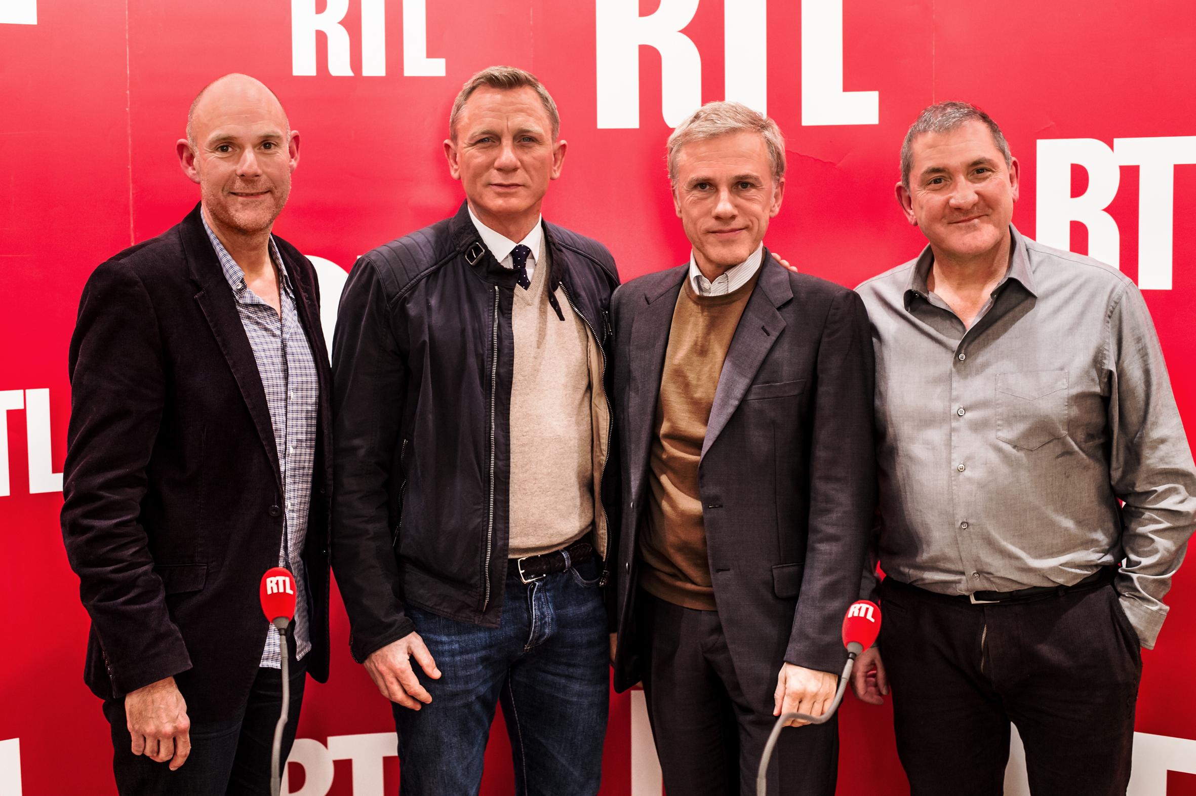 """Pas impressionnée l'équipe de """"Laissez-vous Tenter"""" avec Daniel Craig © Nicolas Gouhier/Abacapress pour RTL"""