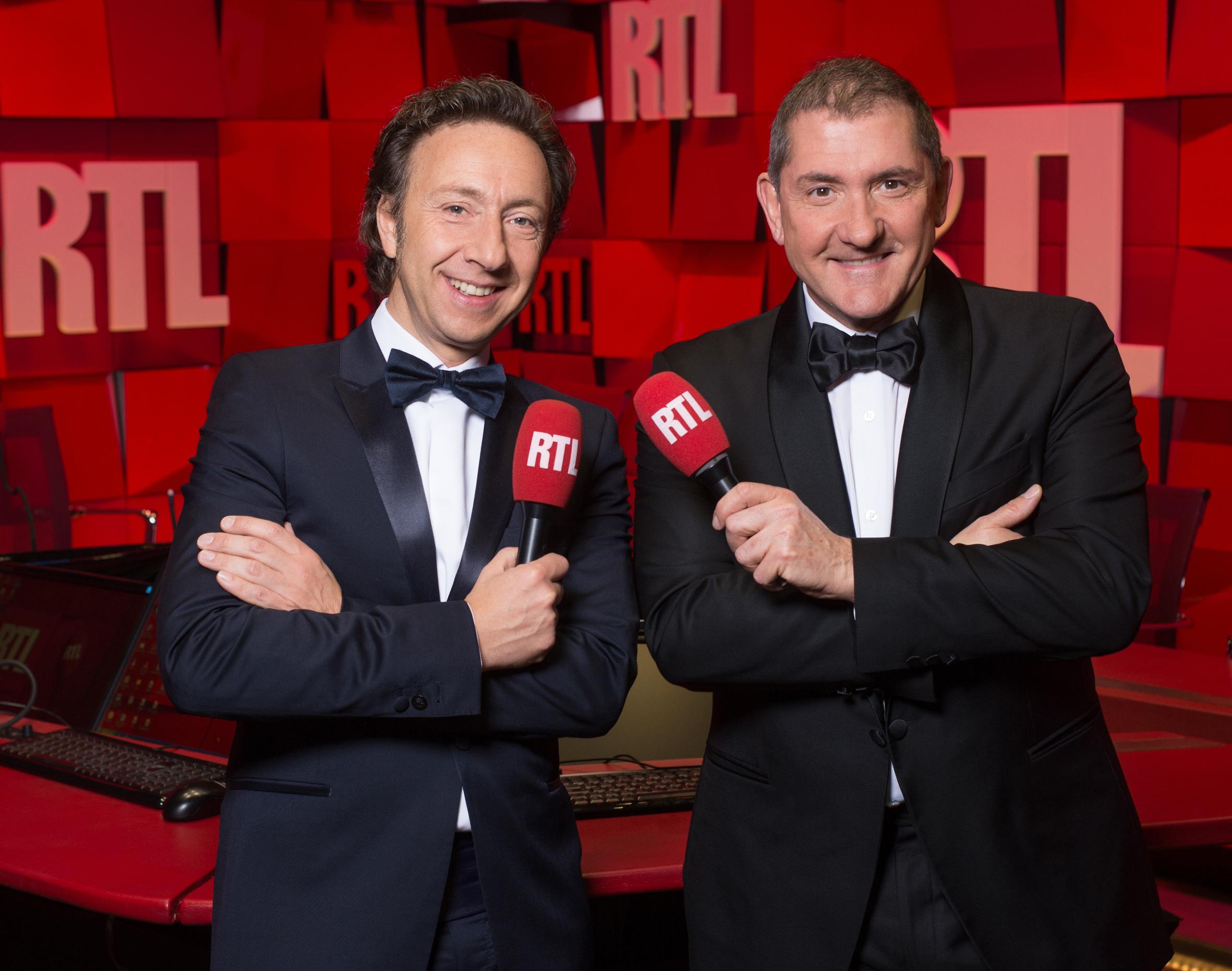 En smoking : Bern et Calvi. Lequel est le plus Bond ? Christophe Guibbaud/Abacapress pour RTL