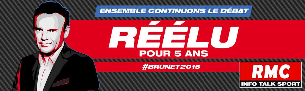Eric Brunet réélu pour 5 ans