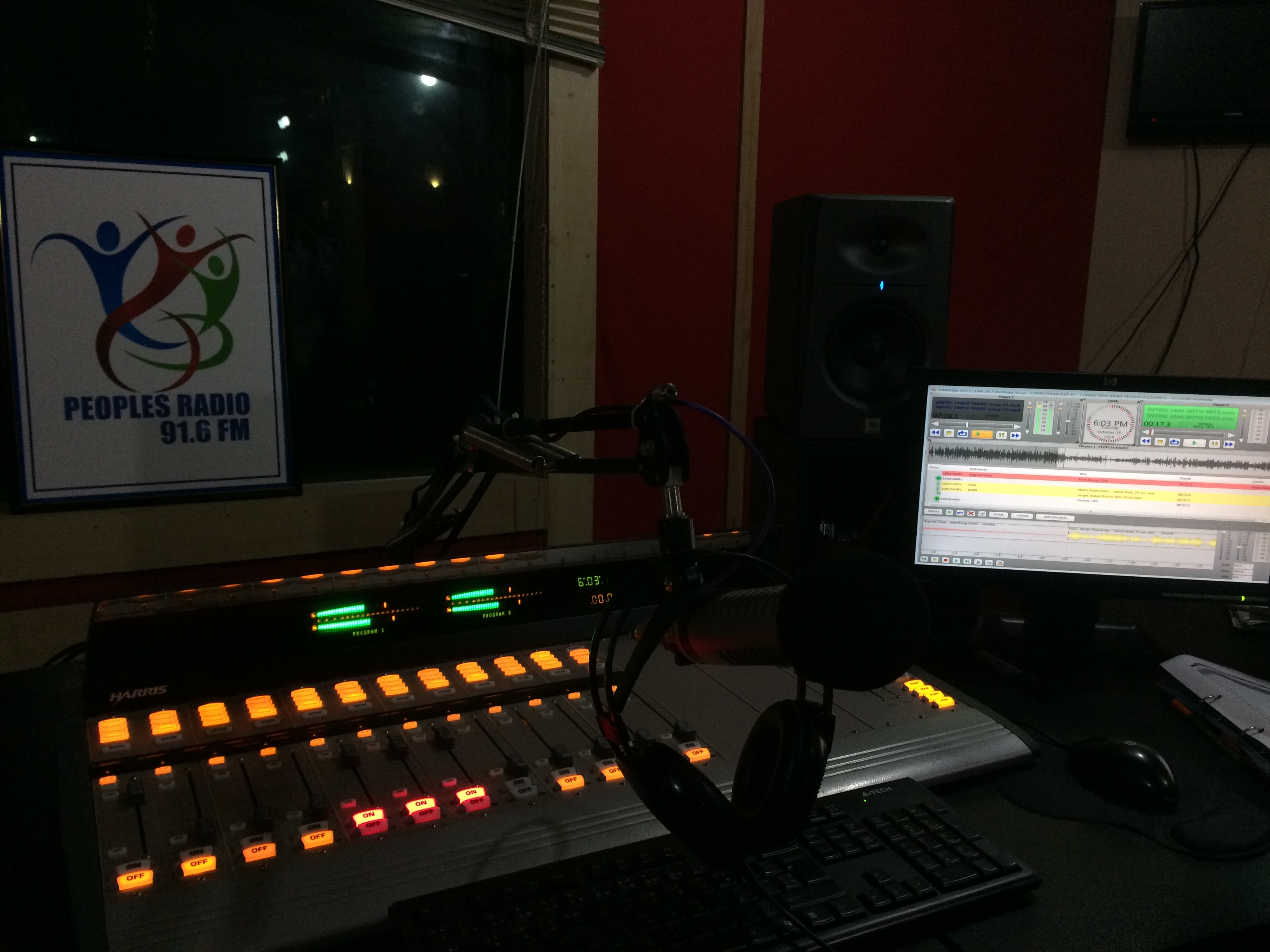 Peoples Radio désormais motorisée par WinMedia