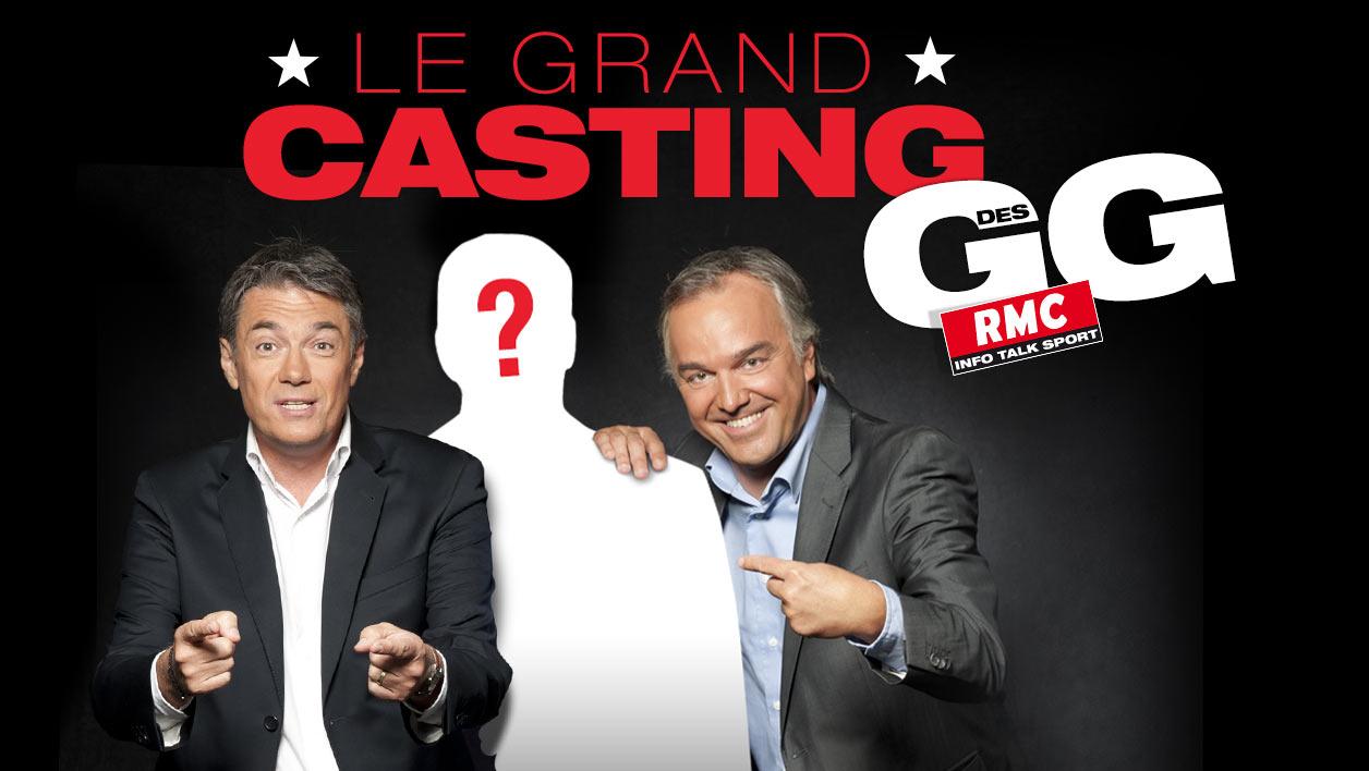 Les auditeurs de RMC seront bien sûr invités à donner leur avis et à réagir à propos des performances des candidats via #GrandCastingGG
