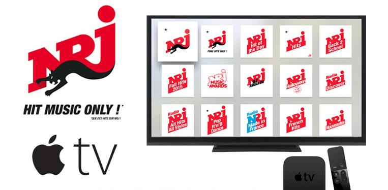 NRJ : un monde de Hits sur l'Apple TV