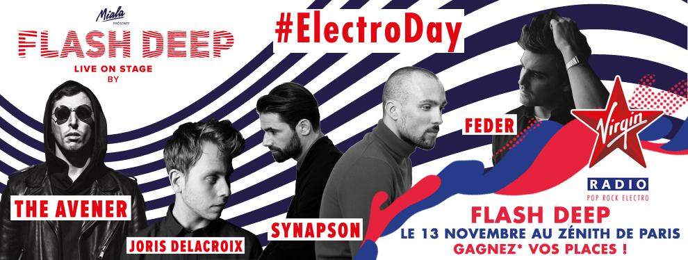 Ce vendredi, c'est #ElectroDay sur Virgin Radio