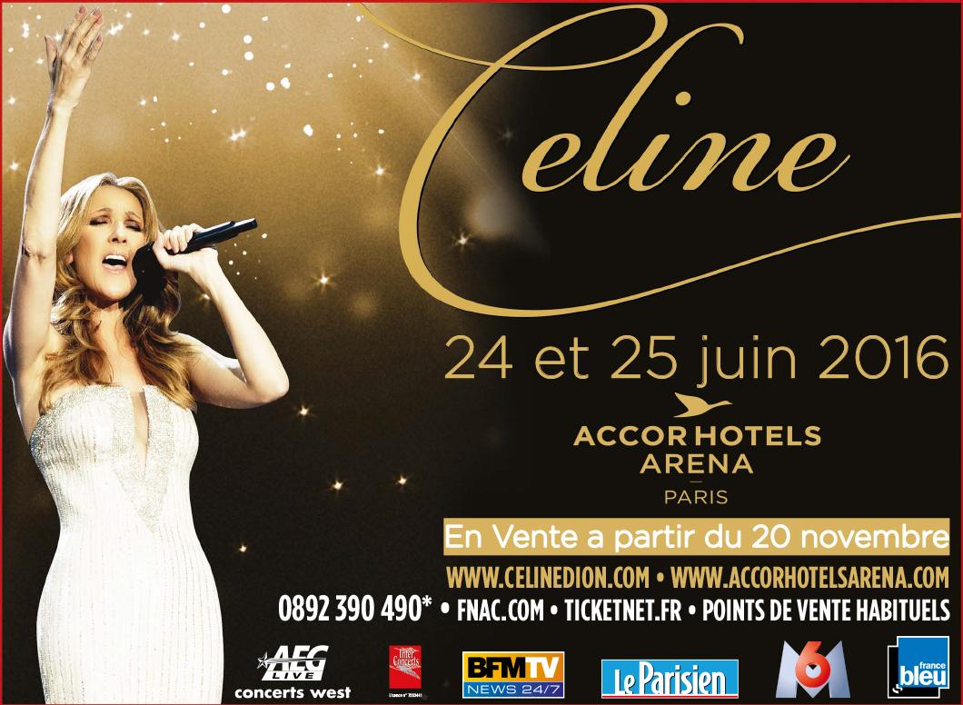 Partenariat : Céline Dion a choisi France Bleu