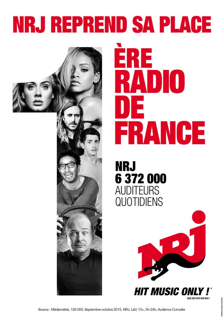 6 372 000 auditeurs pour NRJ