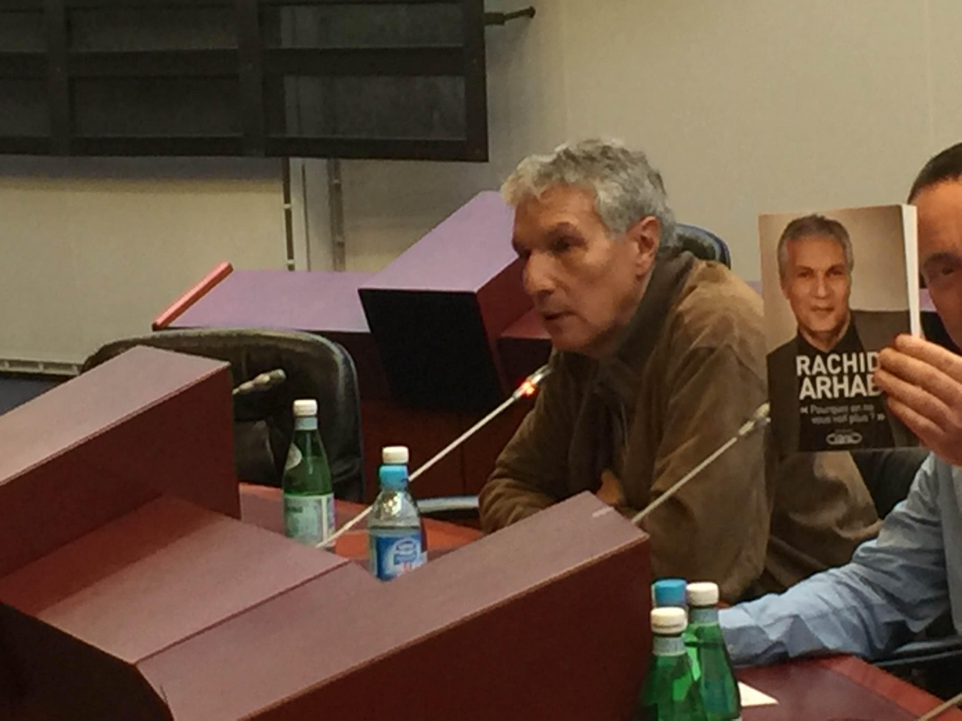 Rachid Arhab, cet après-midi, au congrès annuel du Syndicat National des Radios Libres