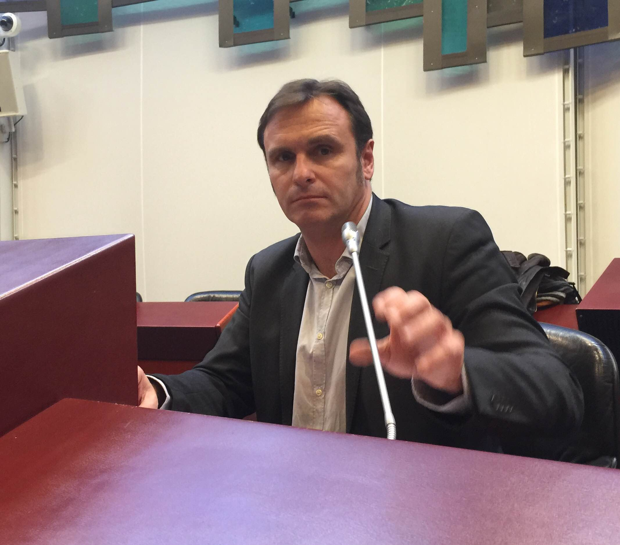 Hier à Rennes, Guy Detrouselle au congrès du SNRL ©Serge Surpin
