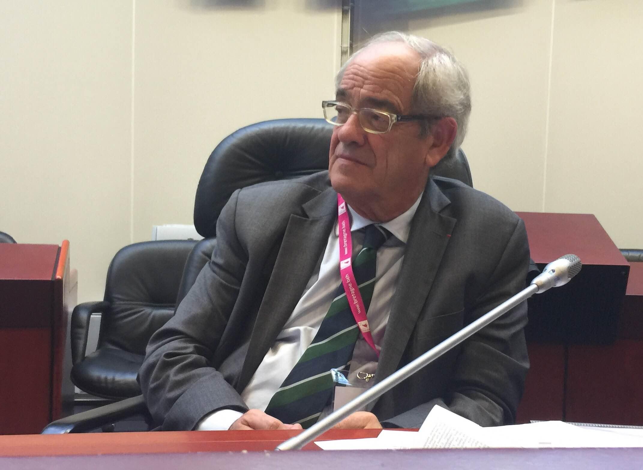 Patrice Gélinet a bien l'intention de boucler le dossier de la RNT avant son départ du CSA... © Serge Surpin