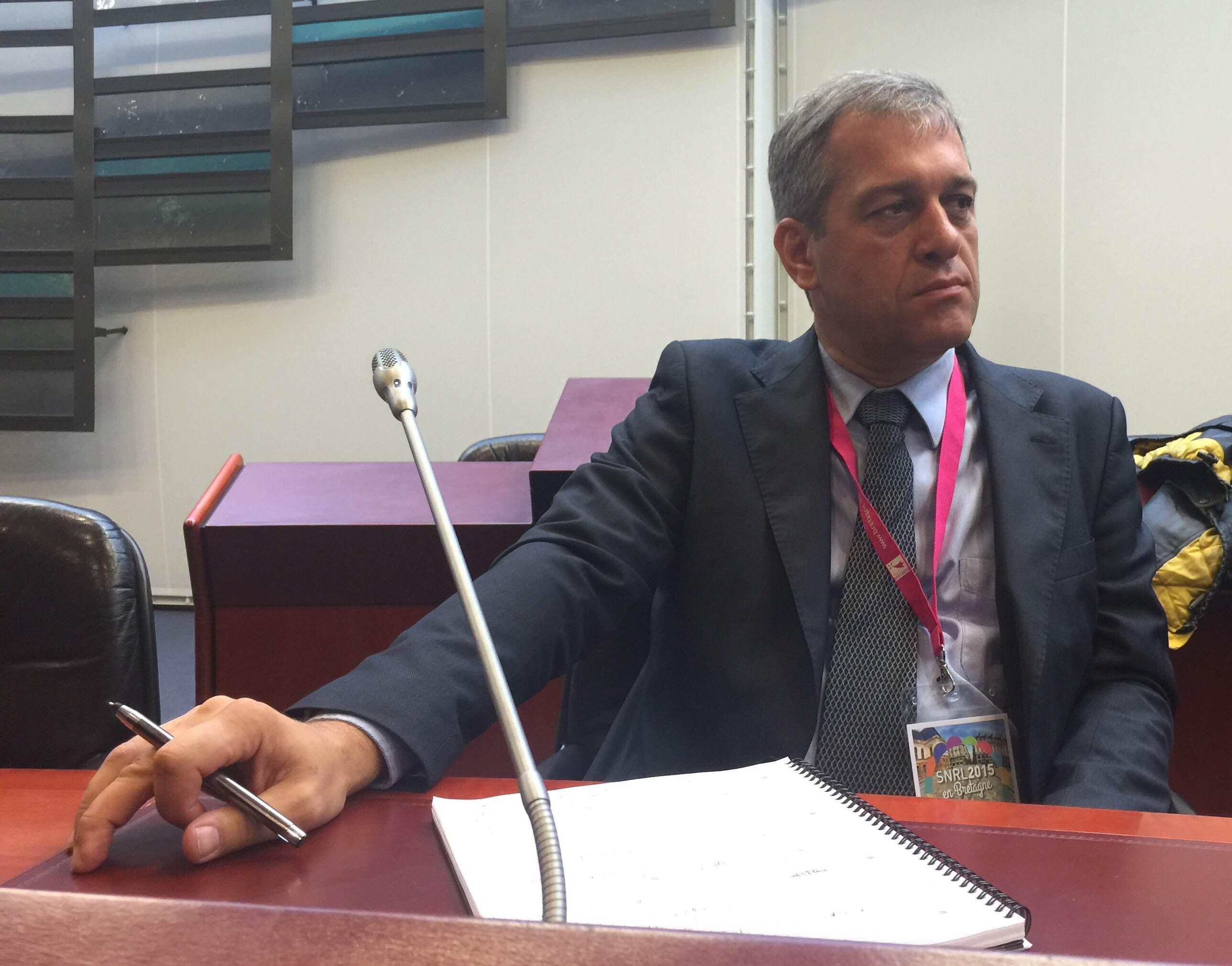 François Jacquin, gérant de la Coopérative Radio © Serge Surpin