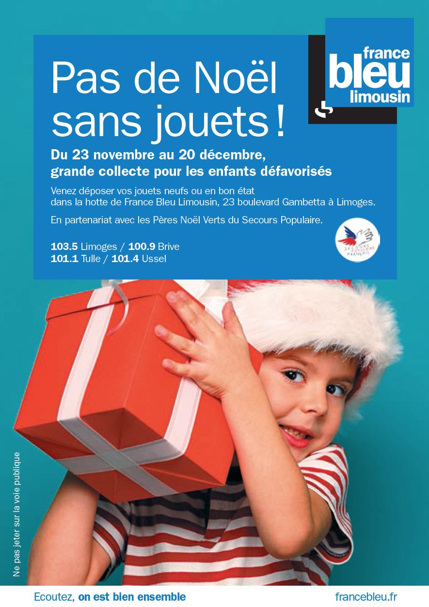 France Bleu Limousin s'associe au Père Noël Vert