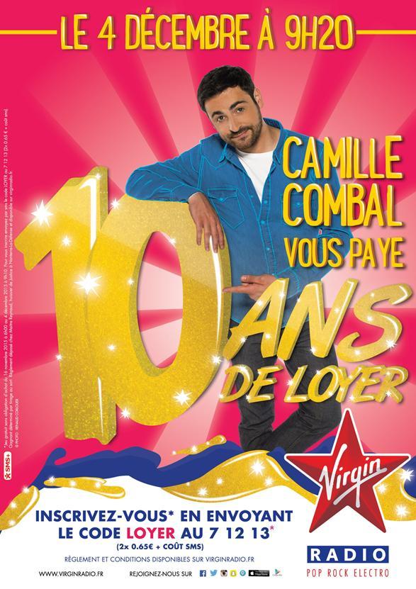 Camille Combal va offrir 10 ans de loyer