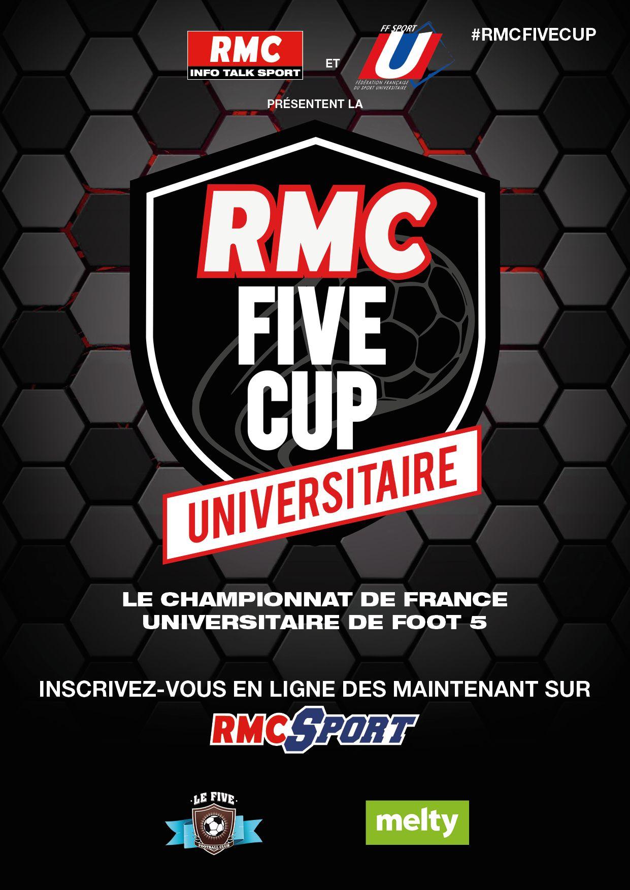RMC lance la Five Cup Universitaire