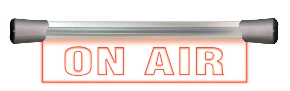 """Signalisation à led """"On Air"""", simple face 40 cm à 210 € HT"""