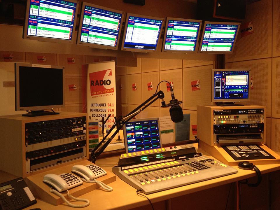 Les studios de Radio 6