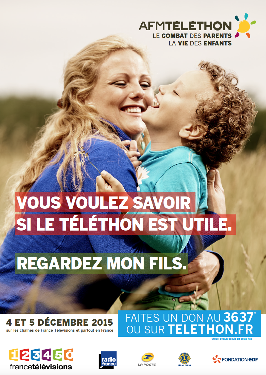 Radio France s'engage pour le Téléthon