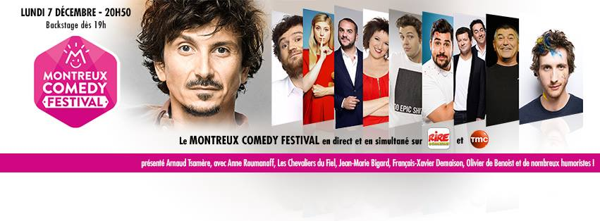 Rire & Chansons en direct du Montreux Comedy Festival
