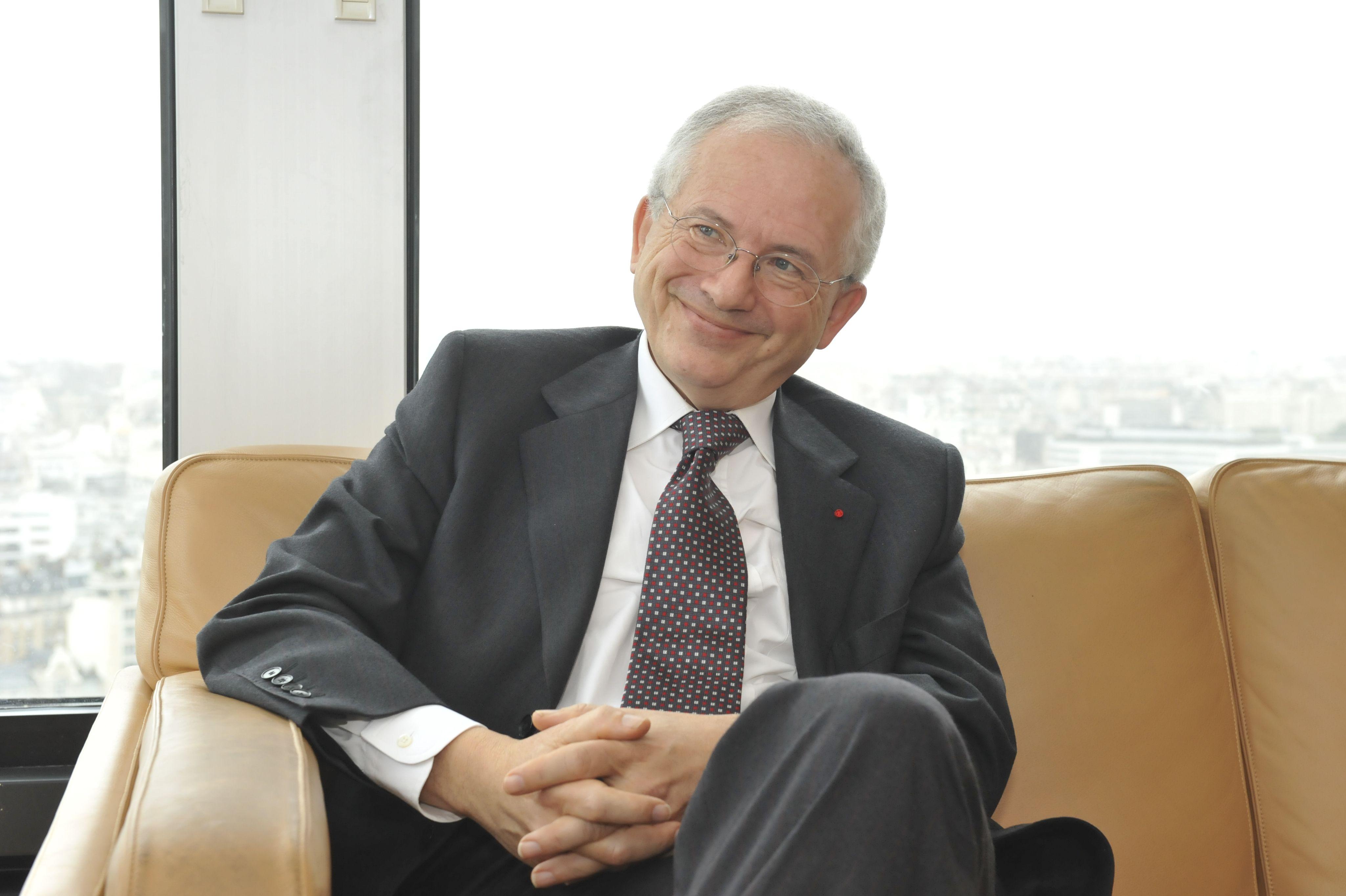 Olivier Schrameck, président du CSA © Fabien de Chavannes