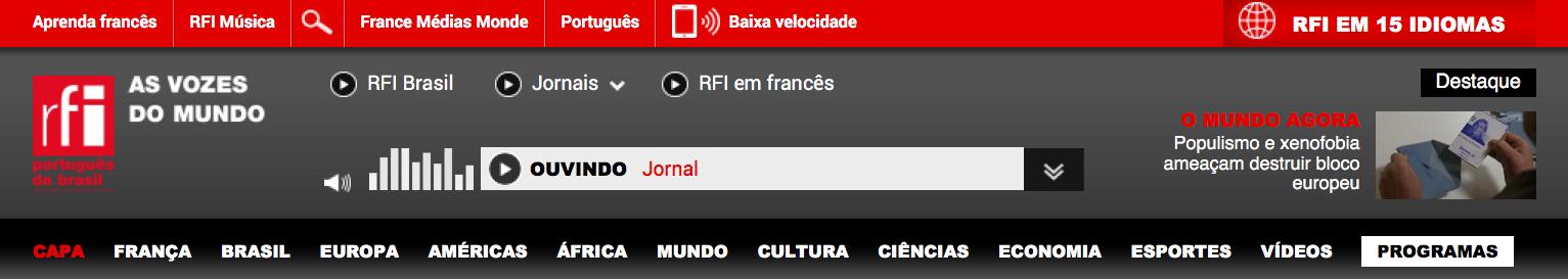 RFI renforce sa diffusion en brésilien