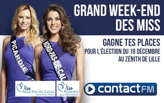 Week-end spécial Miss France sur Contact FM