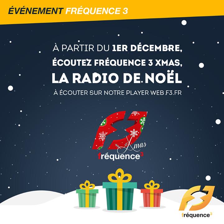 """""""Fréquence 3 XMas"""" : la webradio de Noël"""