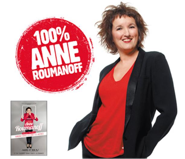 Durant toute cette semaine, Anne Roumanoff prend les commandes de Rire & Chansons
